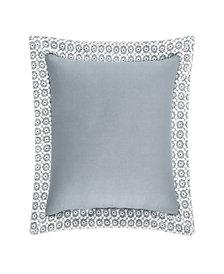 "Piper & Wright Ansonia Blue 16"" Square Pillow"