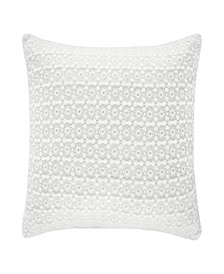 "Piper & Wright Ansonia Offwhite 16"" Square Pillow"