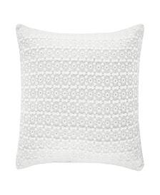 "Piper & Wright Ansonia Offwhite 16"" Square Pillow"