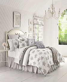 Piper & Wright Sabrina Grey California King Comforter Set