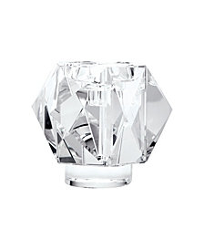 Faceted Star Crystal Candleholder - Large.