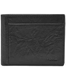Men's Neel Leather Coin-Pocket Wallet