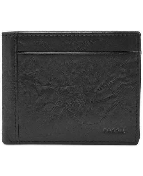 Fossil Men's Neel Leather Coin-Pocket Wallet