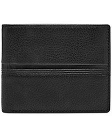 Fossil Men's Roger Embossed Leather Wallet