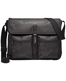Fossil Men's Buckner Cargo Messenger Bag