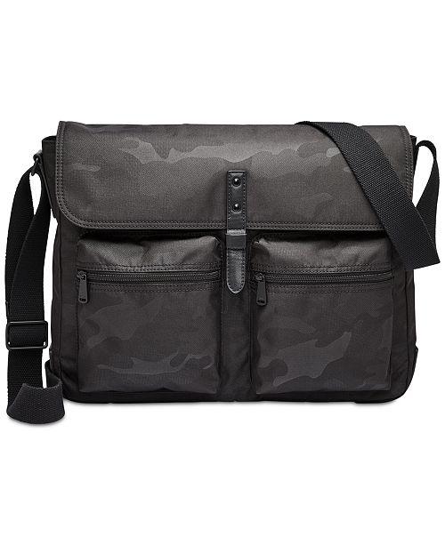 Fossil Men's Buckner Cargo Messenger Bag