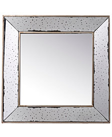 Marion Square Antique Glass Mirror, Large