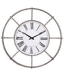 Station Classic Iron Wall Clock