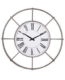 Station Classic Iron Wall Clock