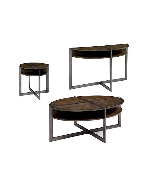 Furniture of America Prontus 3-Piece Table Set