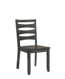 Evly Ladder Back Side Chair (Set of 2)