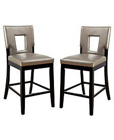 Nosbisch Pub Chair (Set Of 2), Quick Ship