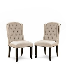 Langly Side Chair (Set Of 2), Quick Ship