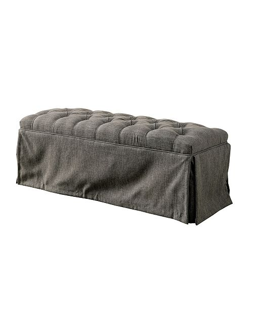 Furniture of America Timpleton Upholstered Bench