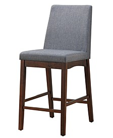 Philomena Upholstered Counter Stool (Set of 2)