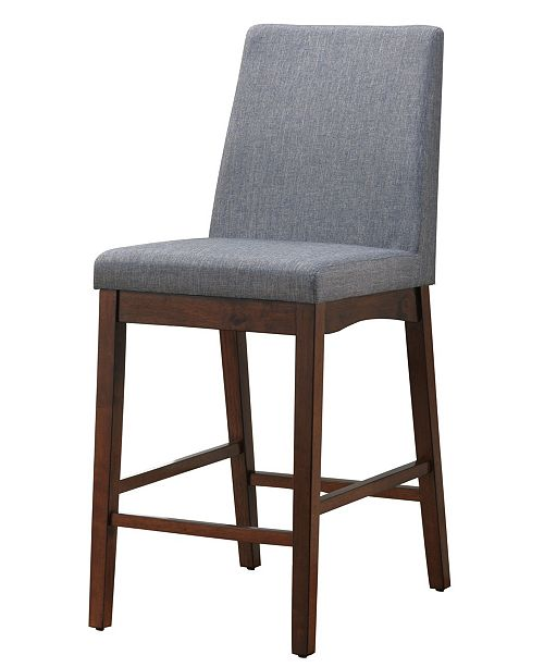 Furniture of America Philomena Upholstered Counter Stool (Set of 2)