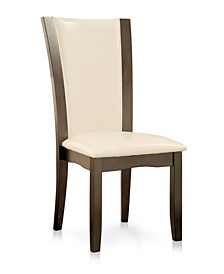 Argentz Faux Leather Dining Chair (Set of 2)
