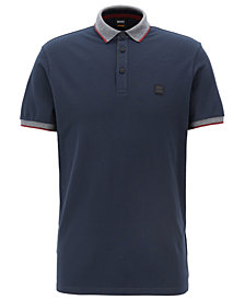 BOSS Men's Relaxed-Fit Cotton Polo
