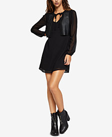 BCBGeneration Contrast Vest Dress