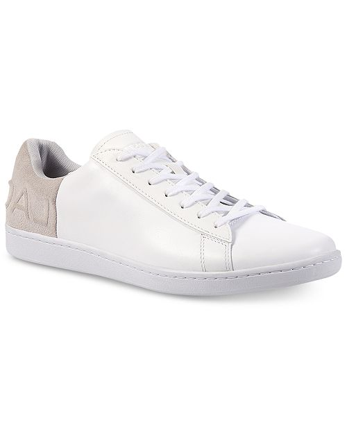 e6ce77f2b Lacoste Men s Carnaby EVO 318 6 Sneakers   Reviews - All Men s Shoes ...