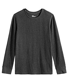 Epic Threads Big Boys Solid Thermal Shirt, Created for Macy's