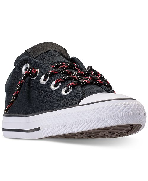 68ee479bf0f ... Converse Little Boys  Chuck Taylor Street Casual Sneakers from Finish  ...