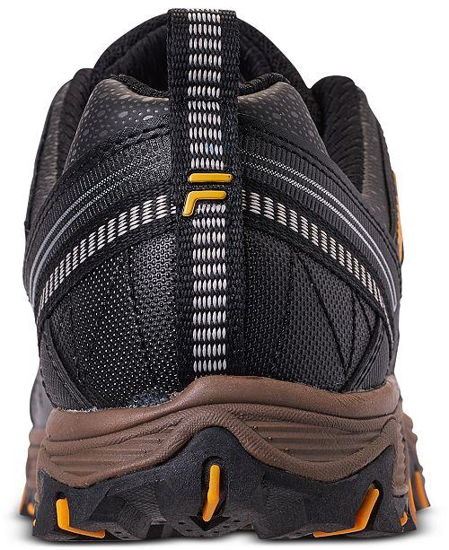 f1b17ca940 Fila Men s At Peake 20 Running Sneakers from Finish Line   Reviews ...