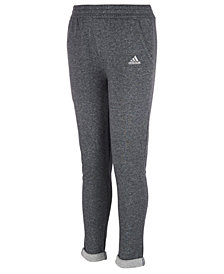 adidas Big Girls Sparkle French Terry Jogger Pants