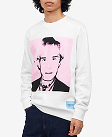 Calvin Klein Jeans Men's Warhol Graphic Sweatshirt