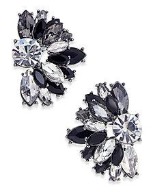 I.N.C. Hematite-Tone Multicolor Crystal Stud Earrings, Created for Macy's