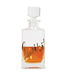Spirits Glass 25 Oz. Decanter