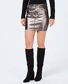 GUESS 5-Pocket Mini Skirt