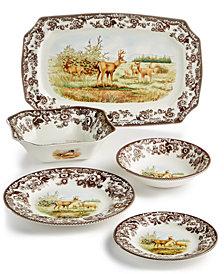 Spode Woodland Deer Collection