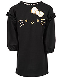 Hello Kitty Little Girls Walffle-Knit Dress