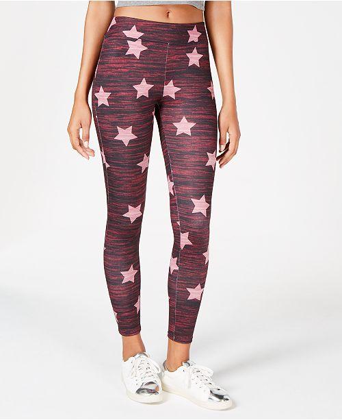 Material Girl Juniors' Star-Print Leggings