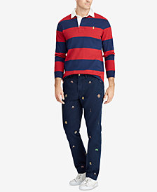 Polo Ralph Lauren Men's Big & Tall Classic Fit Cotton Chino Pants