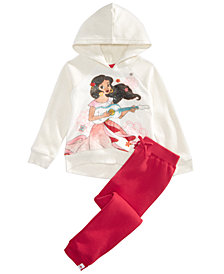 Disney Little Girls 2-Pc. Elena of Avalor Hoodie & Pants Set