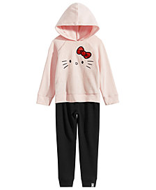 Hello Kitty Little Girls 2-Pc. Hoodie & Pants Set
