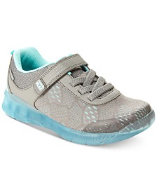 Stride Rite Toddler Girls Made2Play Lighted Neo Sneakers