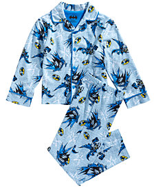 DC Comics Toddler & Little Boys 2-Pc. Batman Pajama Set