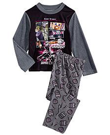 Minecraft Little & Big Boys 2-Pc. Fleece Pajama Set