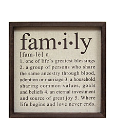 Stratton Home Decor Definition of Family Wall Decor