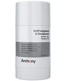 Antiperspirant & Deodorant, 2.5-oz.
