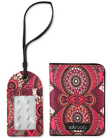 Sakroots Sadie Passport Case & Luggage Tag Set