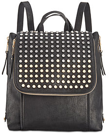 I.N.C. Jessa Flat-Stud Backpack, Created for Macy's