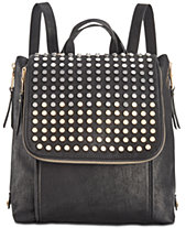 f4b8963ce9a I.N.C. Jessa Flat-Stud Backpack, Created for Macy s