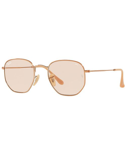 Ray-Ban Sunglasses, RB3548N HEXAGONAL EVOLVE