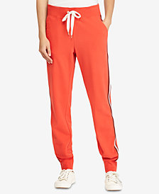 Lauren Ralph Lauren Striped French Terry Jogger Pants