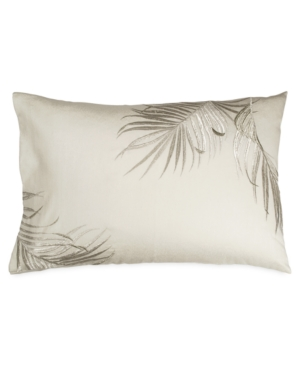 Michael Aram Palm Standard/queen Sham - 100% Exclusive In Ivory