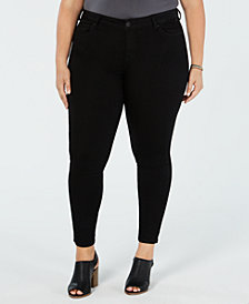 Celebrity Pink Trendy Plus Size Infinite Stretch Skinny Ankle Jeans